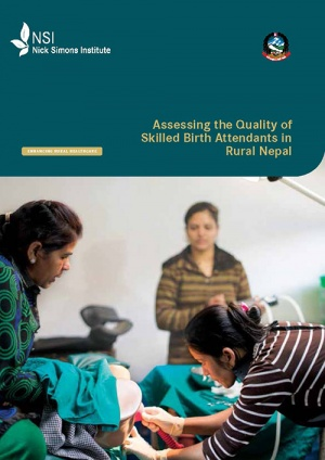 Assessing the Quality of SBAs in Rural Nepal