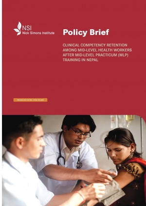 Policy Brief - Clinical Competency Retention among MLP after Training